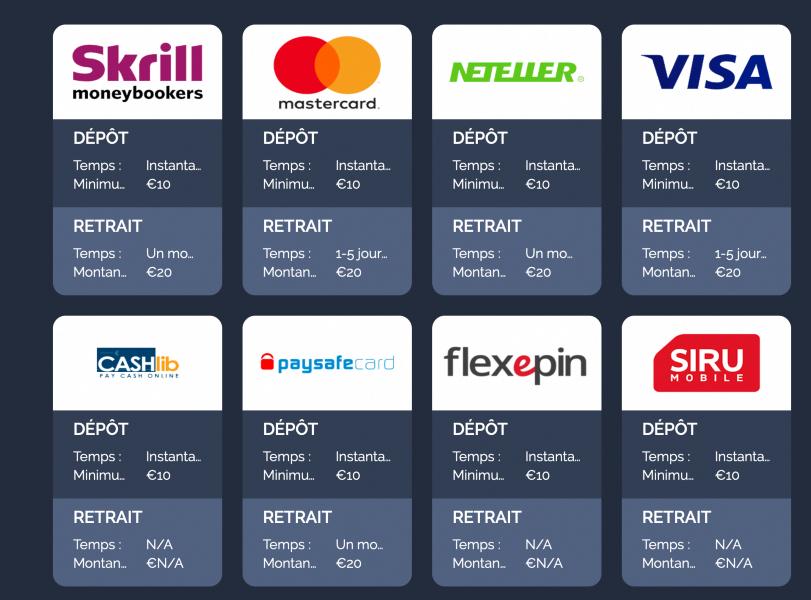Monte Cryptos paiements